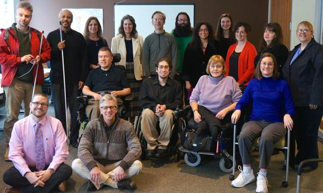The 2014 Portland Commission on Disability with Commissioner Amanda Fritz joining us for the photo.